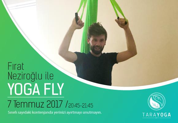 """Fırat Neziroğlu ile """"YOGAFLY"""" Atölyesi"""