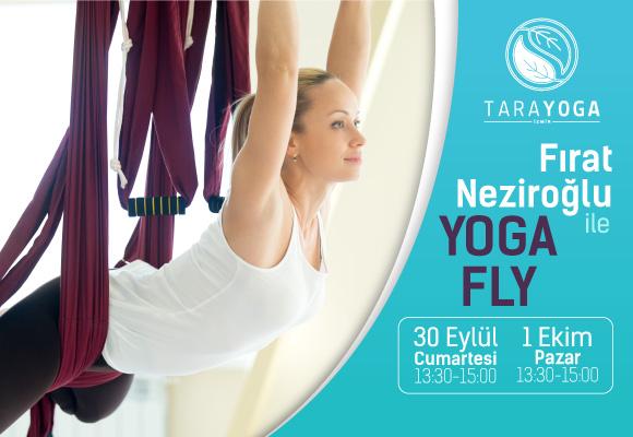 """Fırat Neziroğlu ile Sonbahar """"YOGAFLY"""" Atölyesi"""