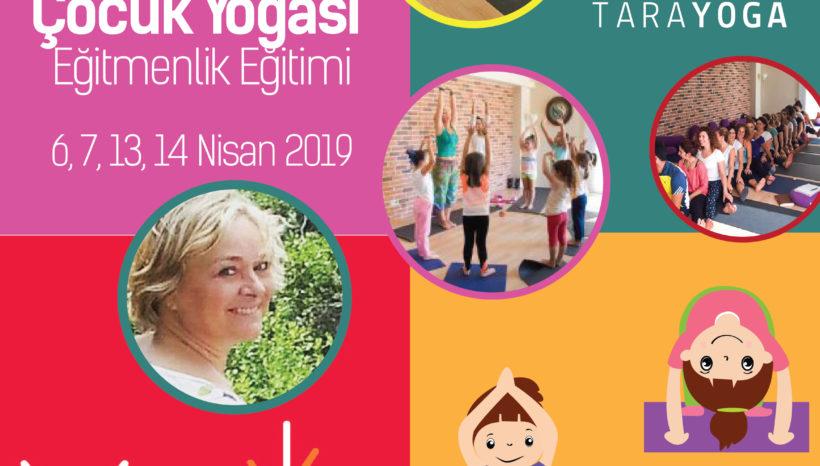 Aylin Tokcan'la Çocuk Yogası Eğitmenlik Sertifika Programı-Nisan 2019