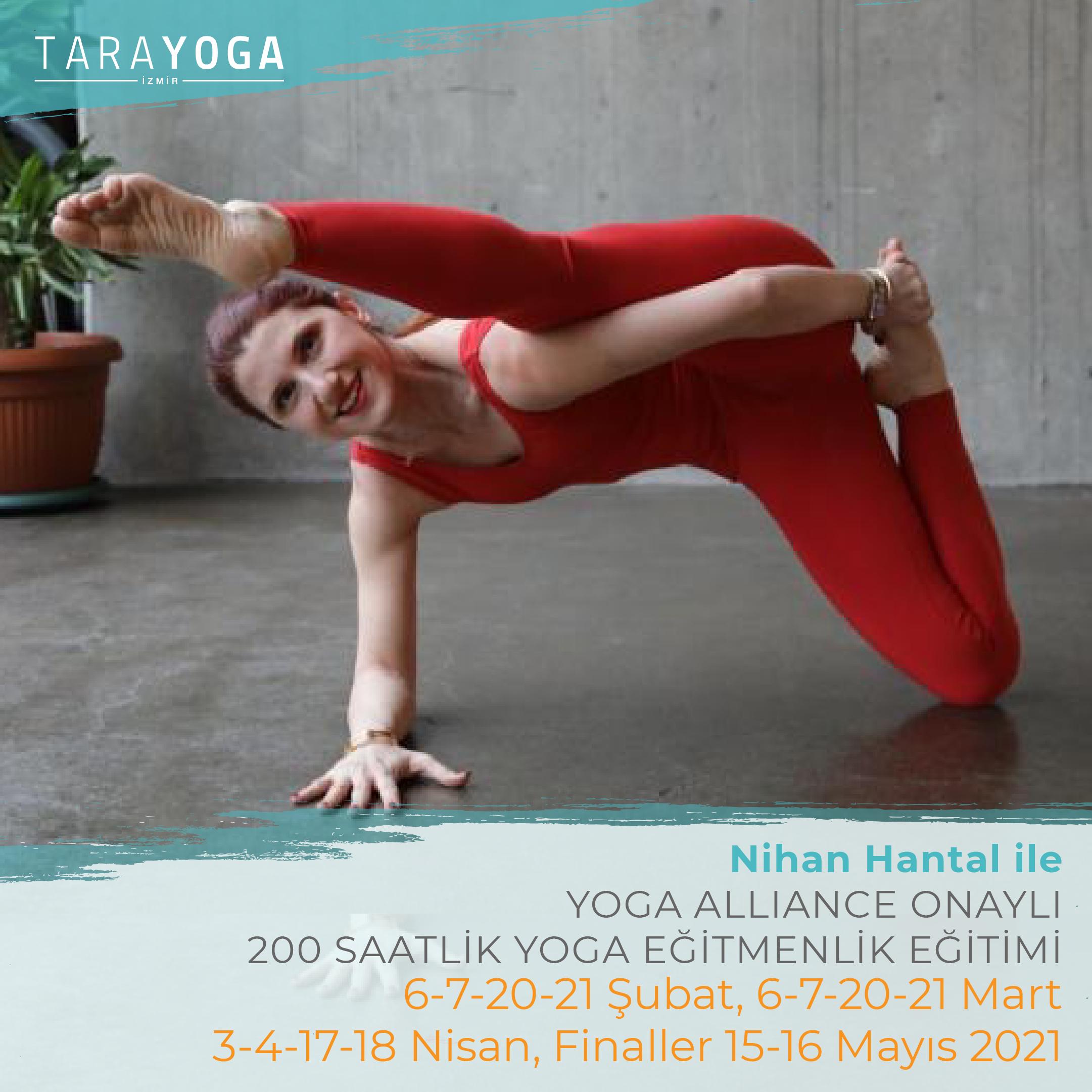 Nihan Hantal ile 200 Saatlik Yoga Eğitmenlik Eğitimi