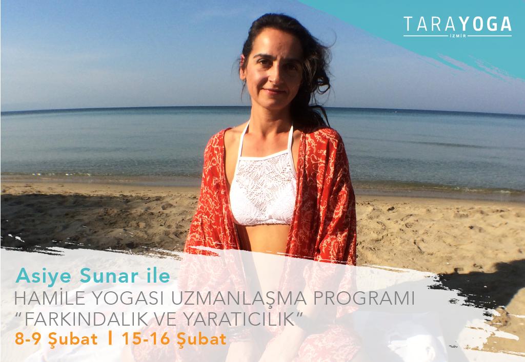 Asiye Sunar ile Hamile Yogası Uzmanlaşma Programı