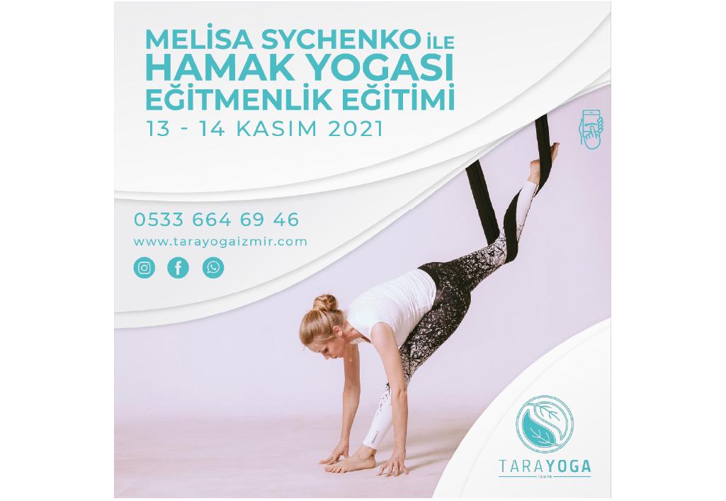 Melisa Sychenko ile Hamak Yogası Eğitmenlik Eğitimi